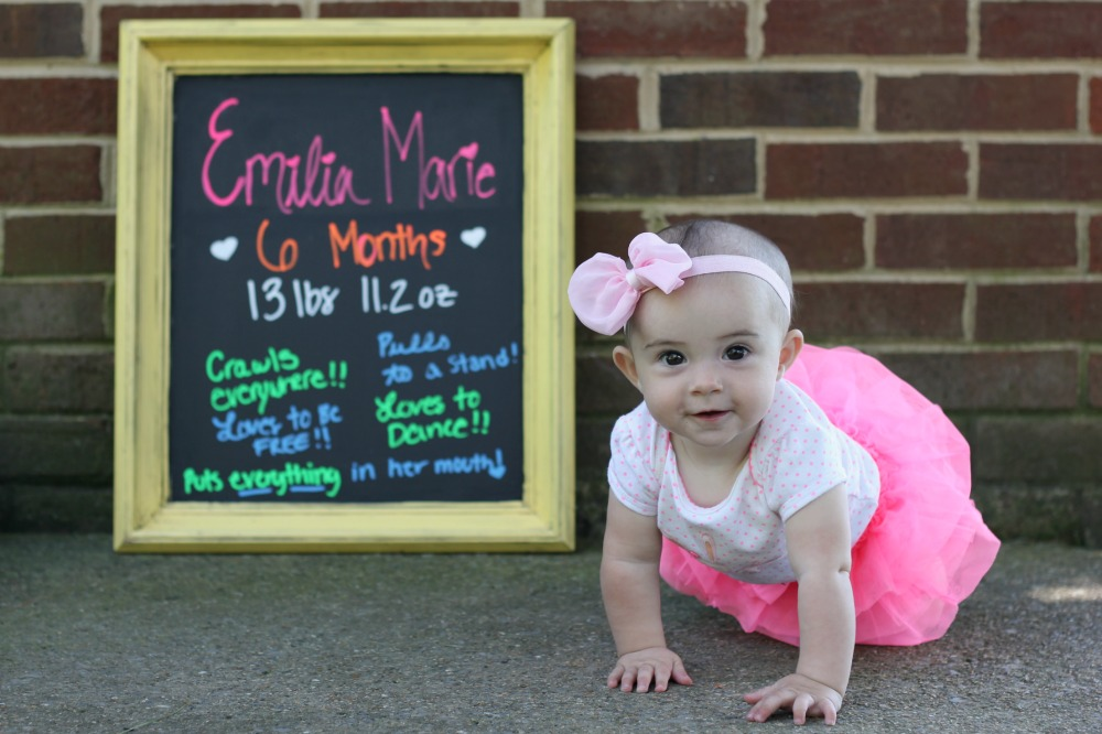 Emilia is six months old 4