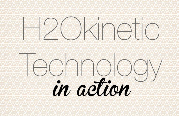 Go Green with H2Okinetic® Technology