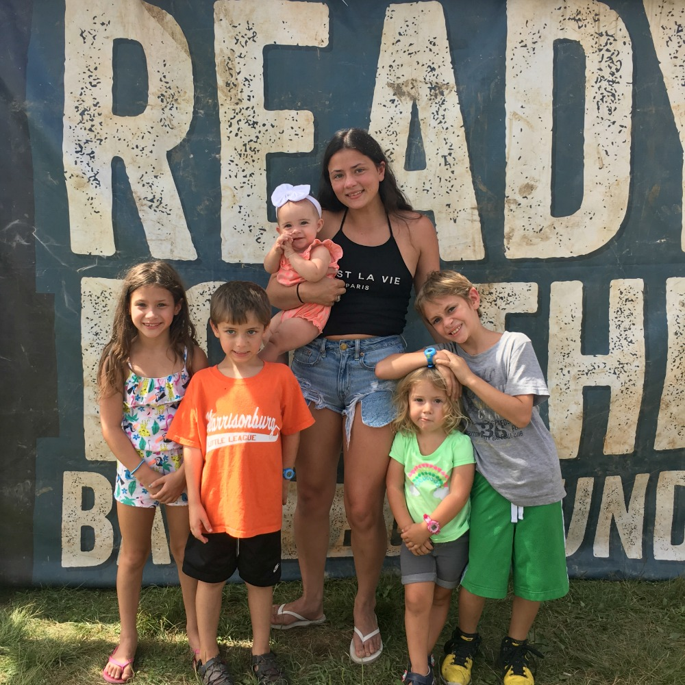 Allie and Kids at Warrior Dash