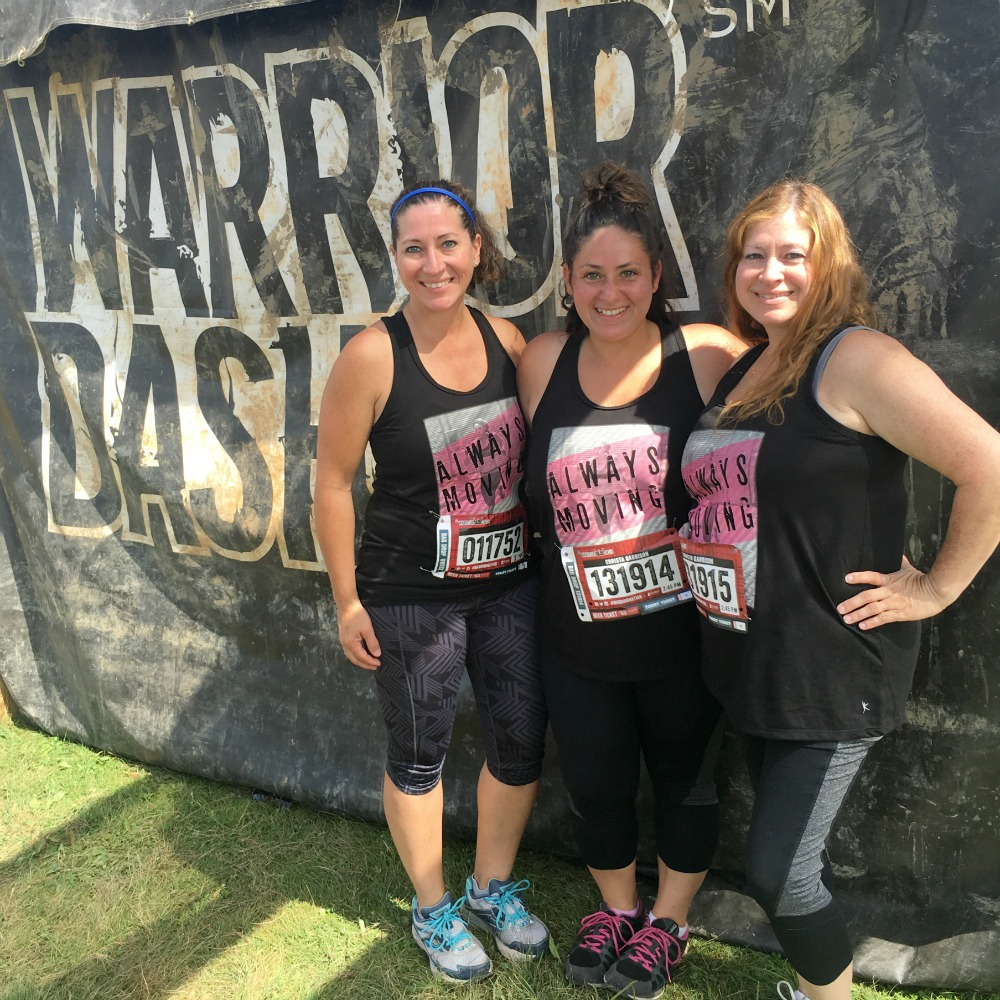 Trio takes the Warrior Dash