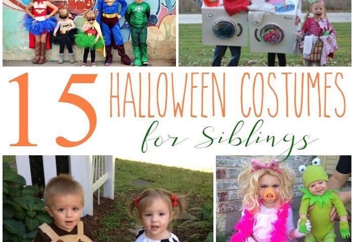 15 Halloween Costumes for Siblings