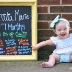 Emilia's 7 Months