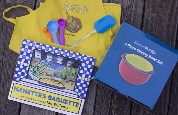 Mo Willem's Nanette's Baguette Review + Giveaway