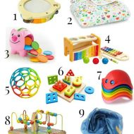 Holiday Gift Guide for Babies 0-12 Months