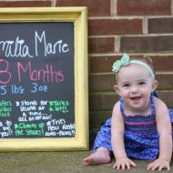 Emilia's 8 Months
