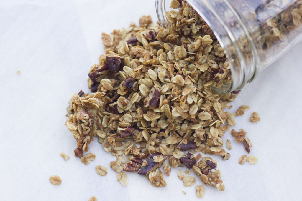 Pecan Maple Granola
