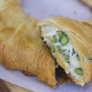 Cheesy Asparagus Crescent Ring