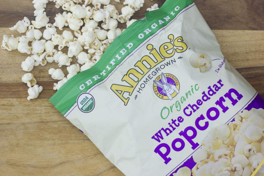 annie's white chedder popcorn