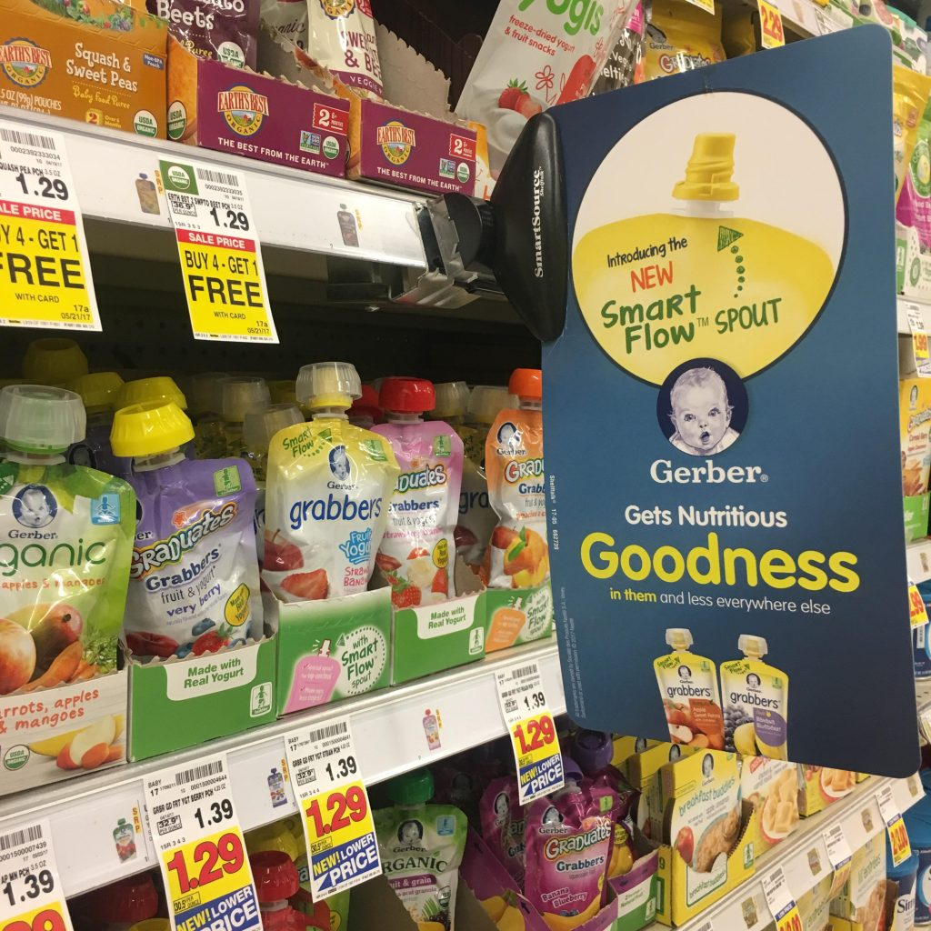 gerber smart flow at Kroger