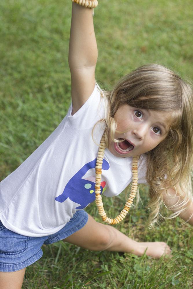wahoo cheerio necklace