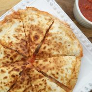 Italian Meatball Quesadillas
