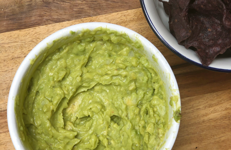 Beginner's Homemade Guacamole Recipe