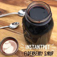 InstantPot Elderberry Syrup