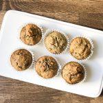 Gluten Free & Dairy Free Chocolate Chip Banana Muffins